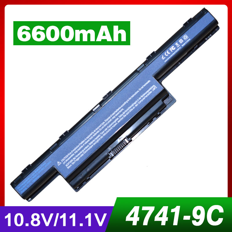 9 hücre laptop batarya Acer Aspire AS10D41 AS10D31 31CR19/65-2 31CR19/652 31CR19/66-2 AK.006BT. 075 AK.006BT. 080 AS10D AS10D3E