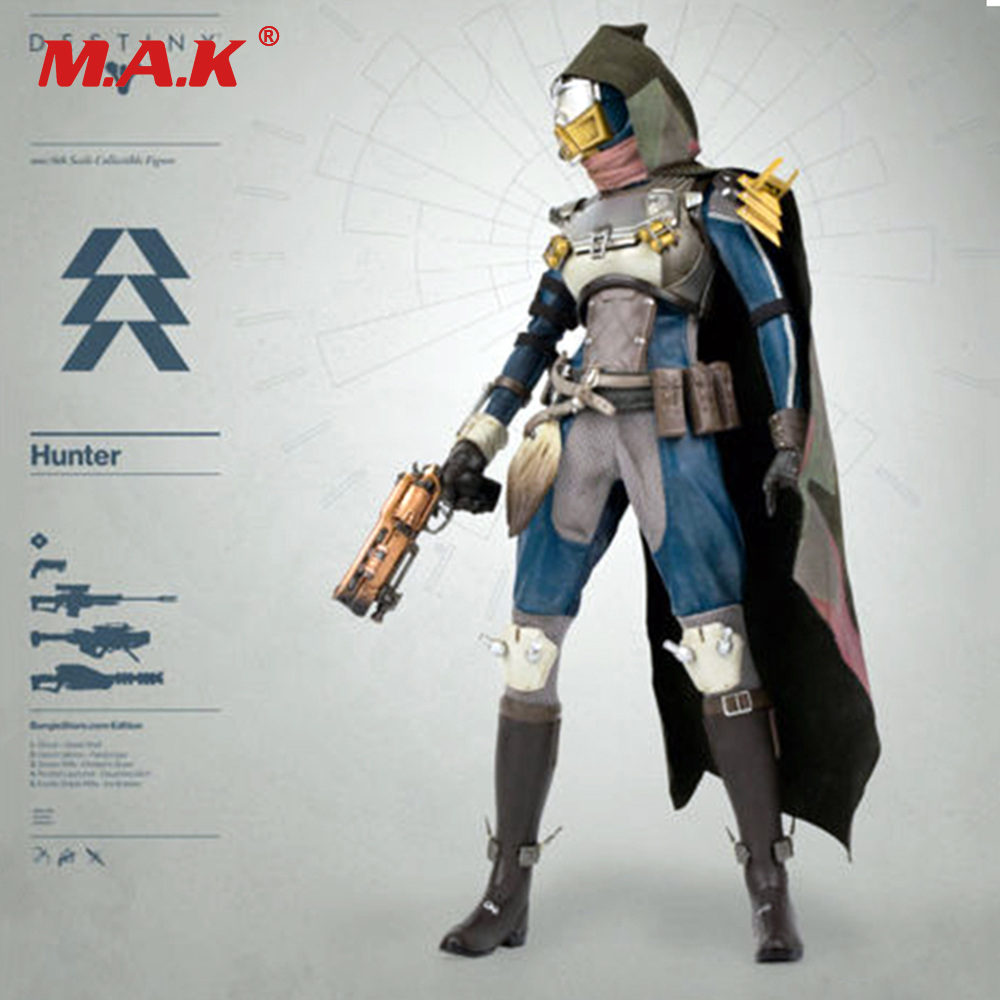 1/6 Ölçekli Destiny Serisi Hunter Goldspiral Shader Şekil Doll Tahsil action figure Model Oyuncaklar Collection