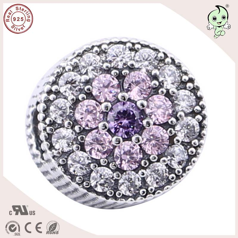 Best Selling And Very Popular Spring New Design Shinning 925 Sterling Silver Charm